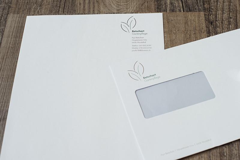 Briefschaften Betschat Gartenpflege