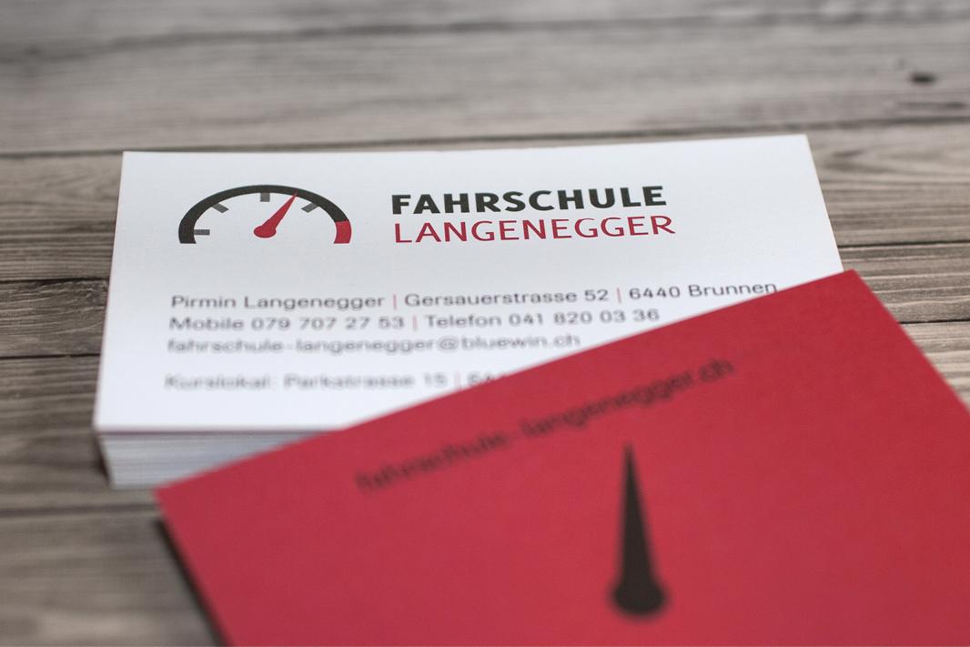 Visitenkarte Fahrschule