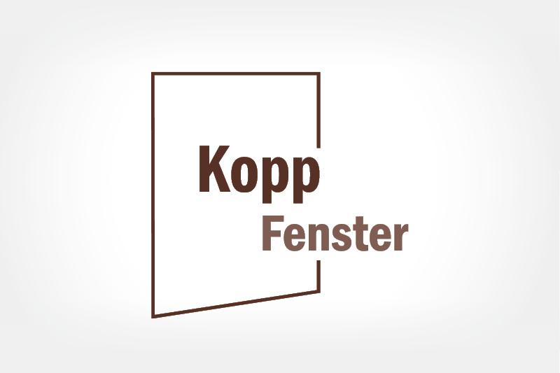 Firmen Logo Kopp Fenster
