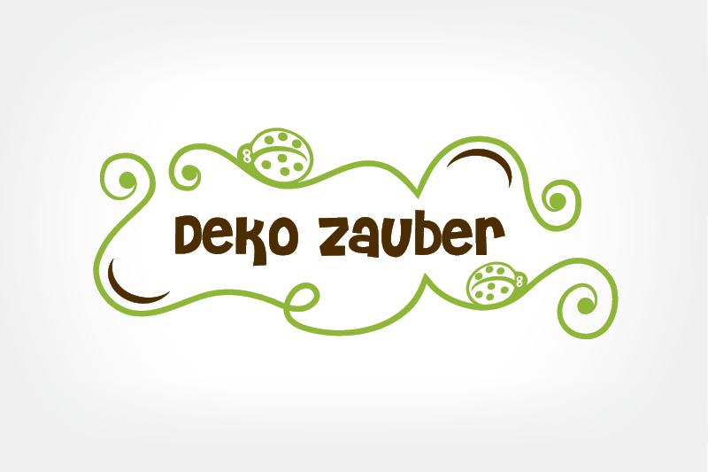 Logo Design Deko Zauber