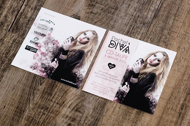 Flyer und Plakate Rahel Diva