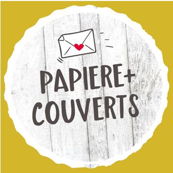 Papiere und Couverts
