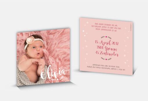 Geburtsanzeige Olivia