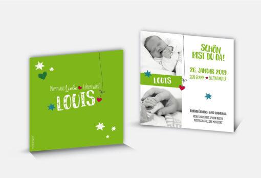 Geburtsanzeige Louis