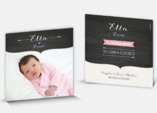 Geburtsanzeige Ella