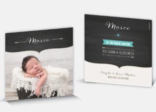 Geburtskarte Marco