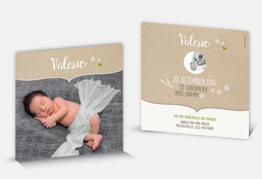Geburtsanzeige Valerio