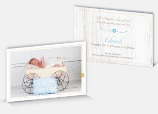 Geburtskarte Edward