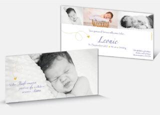 Geburtskarte Leonie