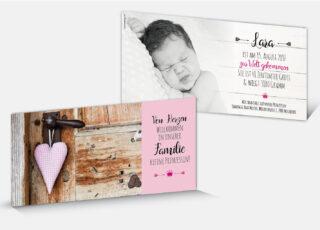 Geburtskarte Lara