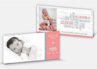 Geburtskarte Mara