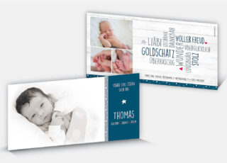 Geburtskarte Thomas
