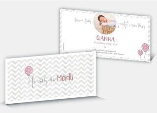 Geburtskarte Gianna