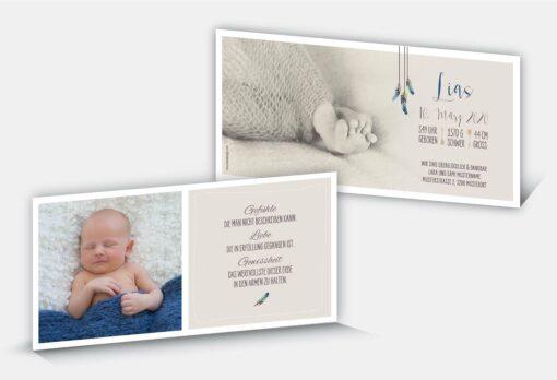 Geburtskarte Lias