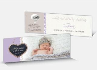 Geburtskarte Gina