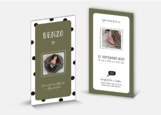 Geburtskarte Renzo
