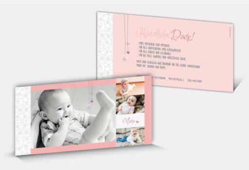 Geburtsdankeskarte Mara