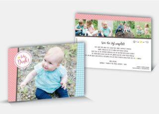 Geburtsdankeskarte Jael