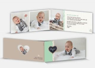 Geburtsdankeskarte Severin