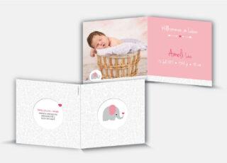 Geburtskarte Ameli