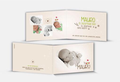 Geburtsanzeige Mauro