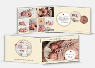 Geburtskarte Edward/Lucie
