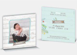 Geburtskarte Aurelio