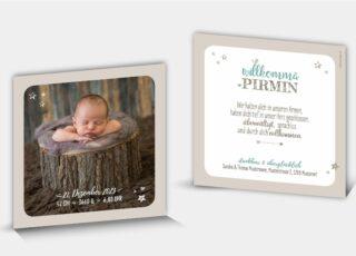 Geburtskarte Pirmin