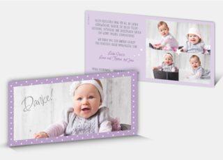 Geburtsdankeskarte Jara