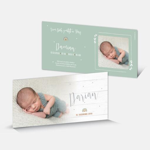 Geburtskarte Damian